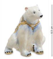 Jb-31 шкатулка белый медведь