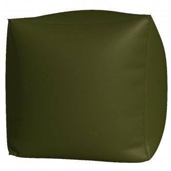 Пуфик куб макси, ткань нейлон, цвет хаки