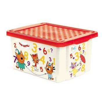 Ящик для хранения la1425 три котаобучайка 17л.
