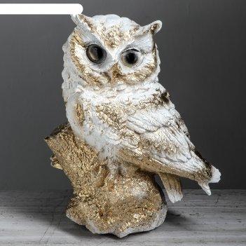 Копилка сова, белый цвет, 33 см,