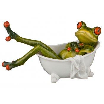 Фигурка лягушка 15,5*6,5*10,5см