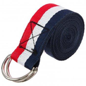 Ремень для йоги 250х4 см, цвета микс