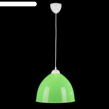 Люстра подвес андриана 2 1 лампа 40w e27 салатовый