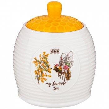 Банка с крышкой lefard honey bee12*10,5 см 450 мл