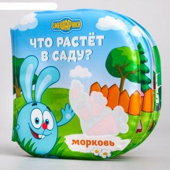 Книжка для игры в ванной смешарики что растёт в саду водная раскраска