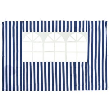 4120 стенка синяя с окном для садового тента