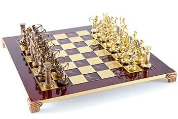 Шахматы сувенирные  античные войны  (mp-s-10-c-44-r)
