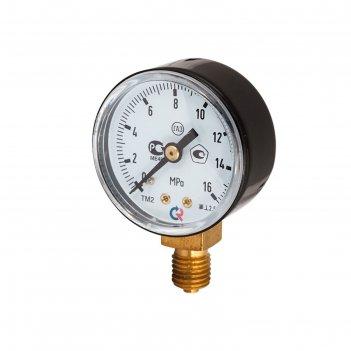 Манометр сварог тм-210р.00(0-16мра)m12x1,5.2,5. газ (ч/к)