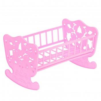 Кроватка-качалка для кукол, 48 х 30 см