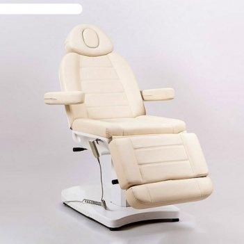 Косметологическое кресло sd-3803a, 2 мотора, цвет белый