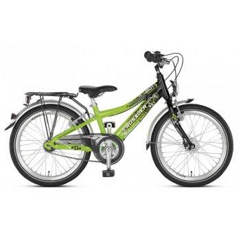 Двухколесный велосипед puky crusader 20-3 alu 4569 kiwi/black салатовый/че