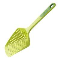 Ложка - дуршлаг scoop plus, материал: нейлон, силикон, размер: 34 х 13 х 7