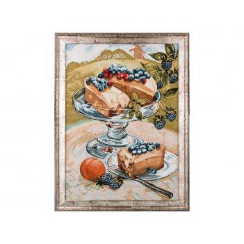 Гобеленовая картина дофине десерт 73х55 см