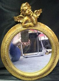 """Зеркало настенное """"ангел"""" 27*33*5см"""