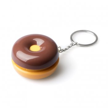 Брелок-таблетница donut шоколад