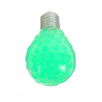 Мялка с гидрогелем лампочка, цвета