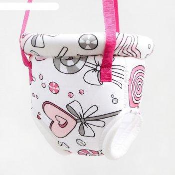 Прыгунки №3 «леденец розовый» (прыгунки, качели)