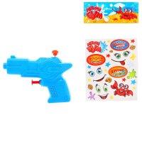 Водный пистолет стрелок, с эксклюзивными наклейками, цвета микс