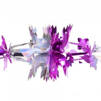 Гирлянда-растяжка резные цветы (микс)