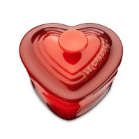 Кокот «сердце», объем: 0,27 л, размер: 10 х 11 см, материал: керамика, цве