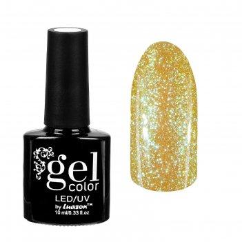 Гель-лак для ногтей горный хрусталь, трёхфазный led/uv, 10мл, цвет 004 жёл