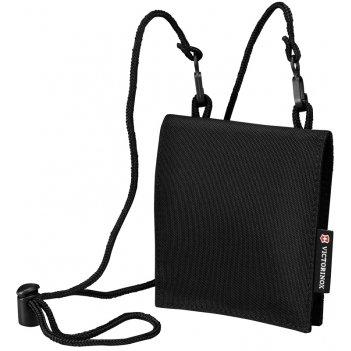 Кошелёк на шею victorinox convertible travel wallet, чёрный, нейлон 800d,