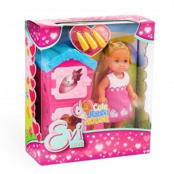 Кукла еви с кроликами 5733065