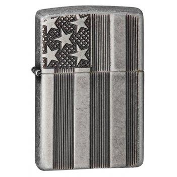Зажигалка armor™ antique silver plate™ zippo 28974