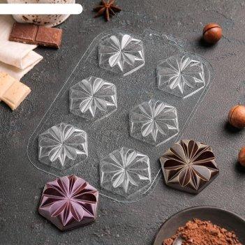 Форма для шоколада печеньки