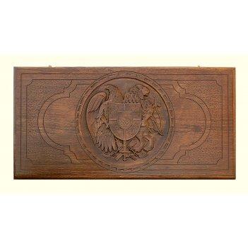 Нарды резные герб армении 3, ustyan