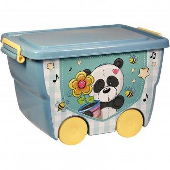 Ящик для игрушек деко: панда, 23 л
