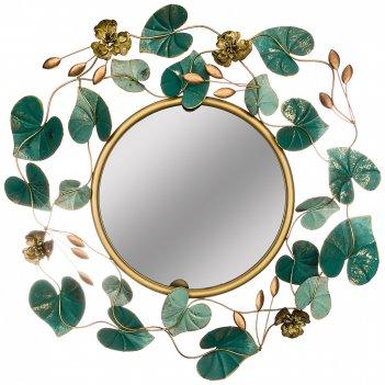 Зеркало настенное коллекция цветочная симфония 71,8*75,6*6,4 см диаметр=37