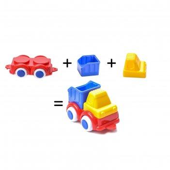 Игровой набор vikingtoys «построй свою машинку»