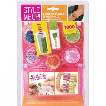Style me up! 309 браслеты из резиночек и страз