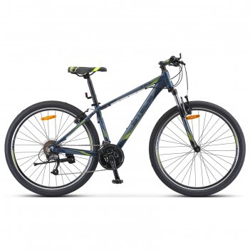 Велосипед 27,5 stels navigator-710 v, v010, цвет темно-синий 17
