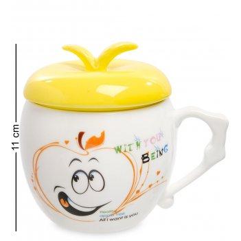 Mug-148/1 кружка веселое яблочко