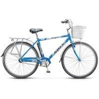 Велосипед 28 stels navigator-380 gent, размер 20, цвет: чёрный/синий