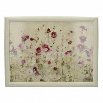 Creative tops поднос с подушкой wild poppies