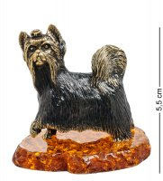 Am-1380 фигурка йорк тори (латунь, янтарь)