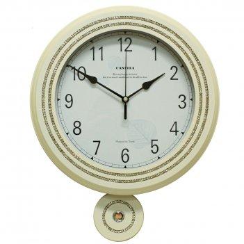 Часы настенные castita 117 w