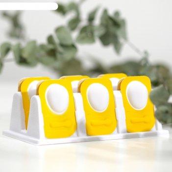 Маска для лица яйцо, увлажняющая, с ложечкой
