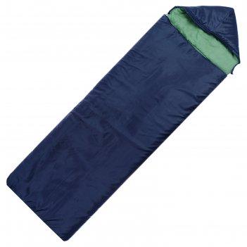 Спальный мешок maclay 2-слойный, с капюшоном, увеличенный, 225 х 105 см, н