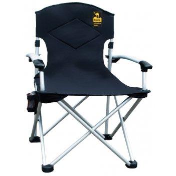Tramp кресло раскладное с уплотнен. спинкой и жестк. подлок.