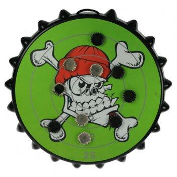 Игра-развлечение к пиву магнитная мишень для пивных пробок 42*