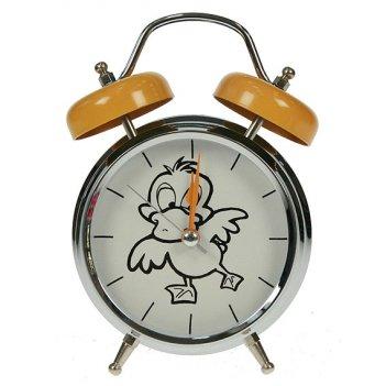Часы настольные утка с функ. будильника 12*6*17см