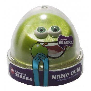 Жвачка для рук nano gum аромат яблока, 50 гр