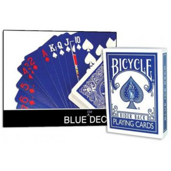 Карты bicycle blue ice deck