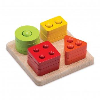 Логическая игрушка «считаем до четырех»