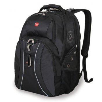 Рюкзак wenger цв. серый/черный, полиэстер 900d, 34х23х47