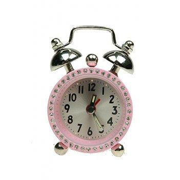 Часы настольные будильник (уп.1/50шт.)